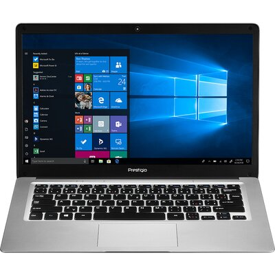 "Prestigio SmartBook 141 C3, 14.1"" (1366*768) TN, Windows 10 Home (English), up to 1.92GHz Quad Core Intel Atom Z8350, 4GB D"
