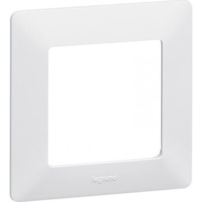 Plate Valena Life - 1 gang - white.Valena Life - plates and surface-mounting boxes