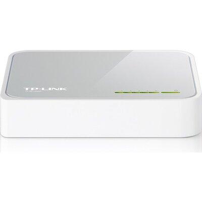 Switch TP-Link TL-SF1005D, 5-Port RJ45 10/100Mbps desktop switch, Fanless, Auto Negotiation/Auto MDI/MDIX, Plastic case