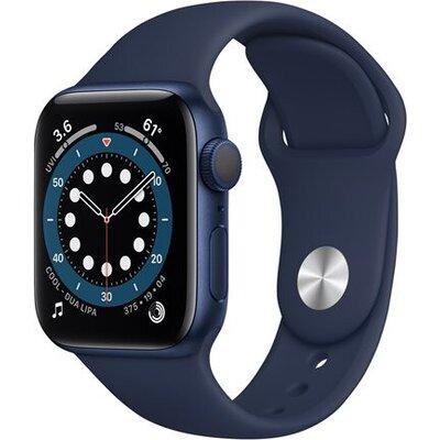 APPLE Watch S6 v 40mm Blue Aluminium Case with Deep Navy Sport Band - Regular