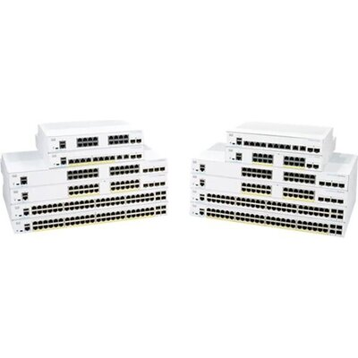 CISCO CBS250 Smart 8-port GE Ext PS 2x1G Combo