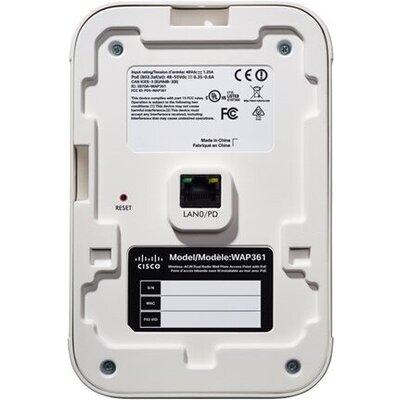 CISCO WAP361-E-K9 Cisco WAP361 Wireless-AC/N Dual Radio Wall Plate Access Point with PoE