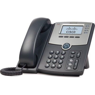 IP Телефон CISCO SPA504G 4 Line IP Phone With Display, PoE and PC Port