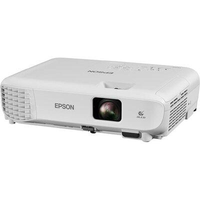 EPSON EB-E01 Projector 3LCD XGA 3300Lumens 4:3 15000:1 1.44-1.95:1 VGA HDMI USB 2.0 type B