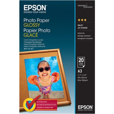 EPSON Photo paper glossy A3 20 sheets 1-pack