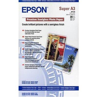 EPSON Premium semi gloss photo paper inkjet 250g/m2 A3+ 20 sheets 1-pack