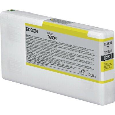 EPSON T6534 ink cartridge yellow standard capacity 200ml