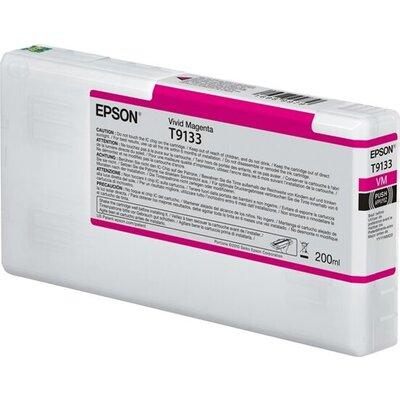 EPSON T9133 Vivid Magenta Ink Cartridge 200ml