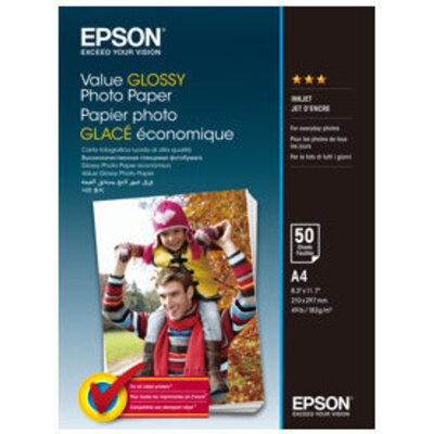 EPSON Value Photo Paper A4 50 sheets