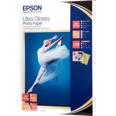 Epson Ultra Glossy S041944 - hartie foto 13x18cm 50coli 300g/m