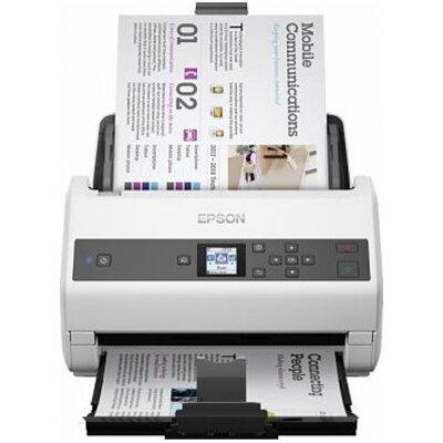 Scanner WorkForce DS-870N; 65ppm and 100 sheet ADF; 600 dpi x 600 dpi; USB 3.0