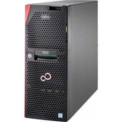 Сървър Fujitsu Primergy TX1330 M4, 1x IE-2124 (4C/4T, 3.30 GHz),16GB (1x16GB) 2Rx8 DDR4-2666 U ECC, BASIC 2.5' KIT  for 8 x  2.5