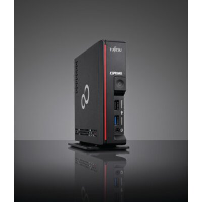 Ultra-Small (~ 0.86 liters) Fujitsu ESPRIMO G558/Core i7-9700T/1x8GB DDR4-2666/Mounting Kit for 2.5' drive/SSD SATA III 256GB SS
