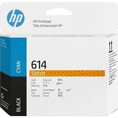 HP 614 Cyan and Black Stitch Printhead