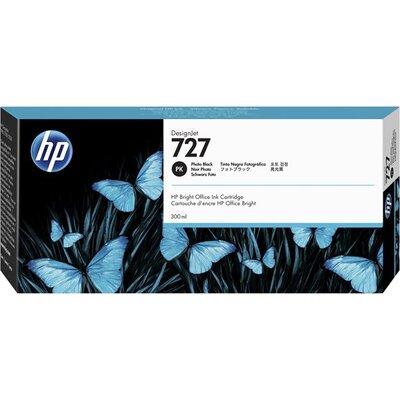 HP 727 300-ml Ink Cartridge Photo Black