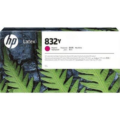 HP 832Y 1L Magenta Latex Ink Cartridge