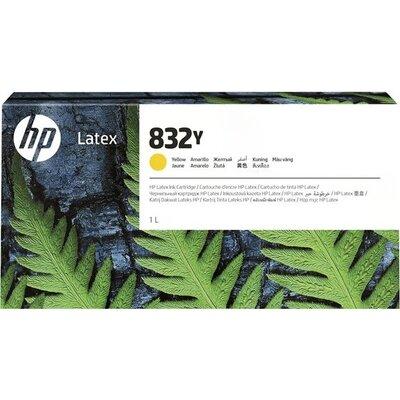 HP 832Y 1L Yellow Latex Ink Cartridge