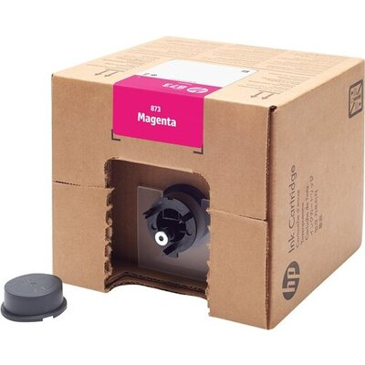 HP 873Y 3-liter Magenta Latex Ink Cartridge