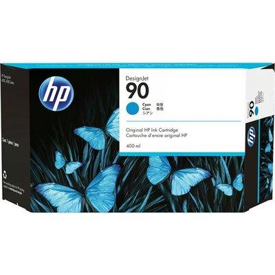 HP 90 original ink cartridge cyan standard capacity 400ml 1-pack
