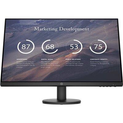 HP P27v G4 27inch IPS Monitor FHD 1920x1080 16:9 300cd/m2 1000:1 5ms GtG 1xHDMI1.4 1xVGA Black 3Y War. (EN)