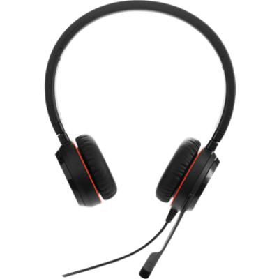 Слушалки с микрофон Jabra EVOLVE 30 II MS Duo, Noise Cancelling, Microphone, 3,5 mm & USB