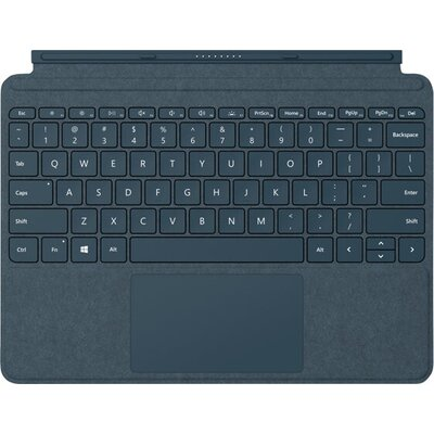MS Surface Go Typecover Gemini Clr Commer SC Eng Intl Euro Hdwr Commercial COBALT BLUE (EN)