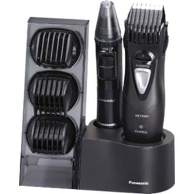 Комплект за бръснене и подстригване Panasonic ER-GY10CM504 за тяло и лице, нос и уши, портативен, тип батерия - акумулаторна с в
