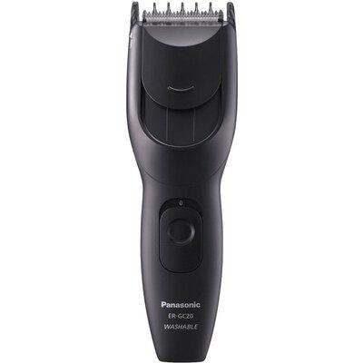Машинка за подстригване Panasonic ER-GC20-K503, LED индикатор, Миещ се, 3-21 мм