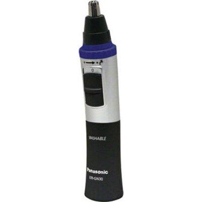 Тример Panasonic ER-GN30-K503 за нос и уши, тип батерия АА