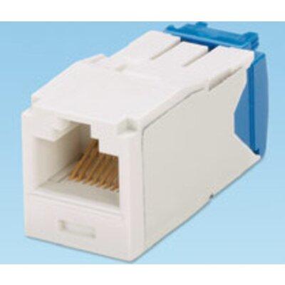Cat 6 UTP Mini-Com® TX6™ PLUS Jack Module arctic white