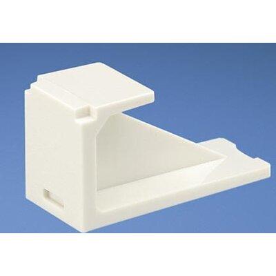 Mini Com Blank Module arctic white