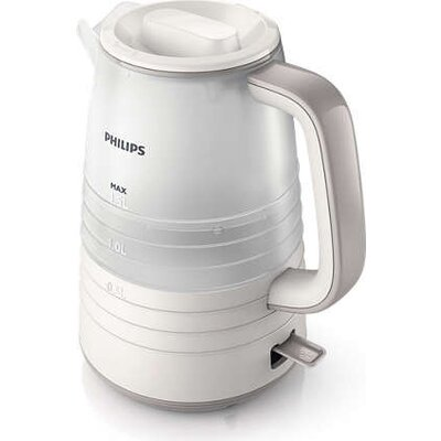 Philips Електрическа кана  Daily Collection 1.5 liter 2200 W White/Gray