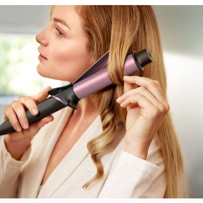 Philips Маша за къдрене StyleCare Sublime Ends Curler 32mm large barrel SplitStop Technology Keratin infusion Digital temperatur