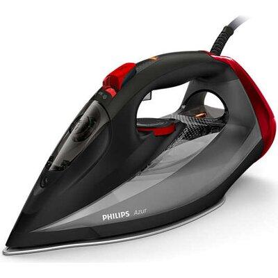 Philips Парна ютия Azur 50 г/мин непрекъсната пара, Парен удар 250 г, Гладеща повърхност SteamGlide Advanced