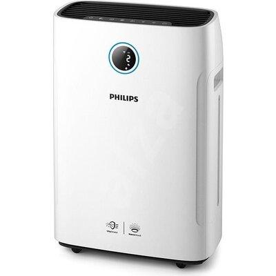 """Philips Пречиствател и овлажнител за въздух """"2-в-1"""" Премахва 99,9% от частици 3нм, Размер на стаята: 30 м² CADR за час"""