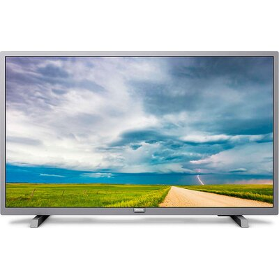 "Philips 32"" HD TV, DVB-T/T2/T2-HD/C/S/S2,  Pixel Plus HD, Incredible Surround, Clear Sound 10W, сребрист"