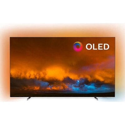 "Philips 65"" OLED 4K UHD LED Android TV,  Ambilight 3, 5000 PPI, HDR 10+,Dolby Vision, Dolby Atmos, P5 Perfect Picture Proce"