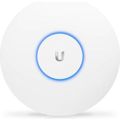 Аксес пойнт, Ubiquiti UniFi AP AC Pro, Dual Band, AC1750 (450+1300GHz), PoE Powered, range 122m, с включен захранващ адаптер в к