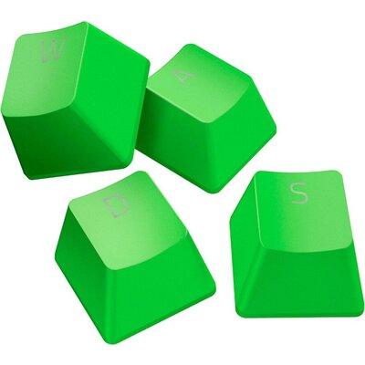Razer PBT Keycap Upgrade Set - Razer Green, Superior PBT Material, Doubleshot Molding With Ultra-Thin Font, Works With Popular K