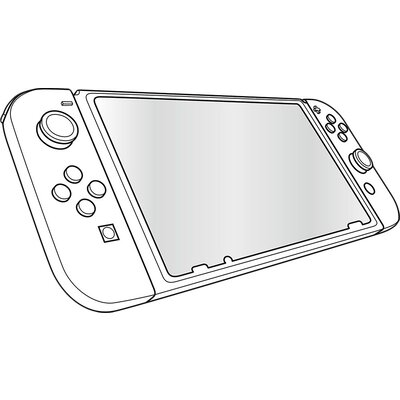 Speedlink GLANCE PRO Tempered Glass Protection Kit - for Nintendo Switch, Crystal-clear transparency, Includes microfibre cleani
