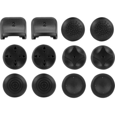 Speedlink TRIGGER Controller Add-On Kit - Trigger and analog stick caps for the original PS3® controller, black