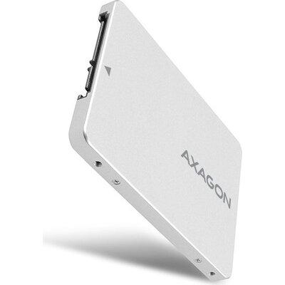 AXAGON RSS-M2SD SATA - M.2 SSD SATA, up to 80mm SSD, ALU body