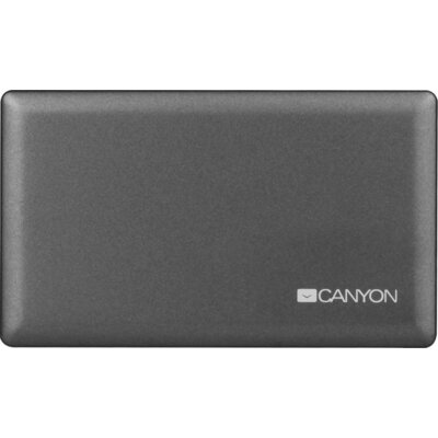 CANYON CardReader All in one CNE-CARD2 (CF/micro SD/SD/SDHC/SDXC/MS/Xd/M2) USB 2.0, Gray, cable length 0.03m, 88*8*53mm, 0.035kg