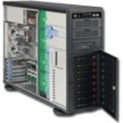 Шаси SUPERMICRO SuperChassis, 4U Server Case,  Extended ATX, 7 slots, 2xUSB2.0, PSU installed 1 x 865W, Черен
