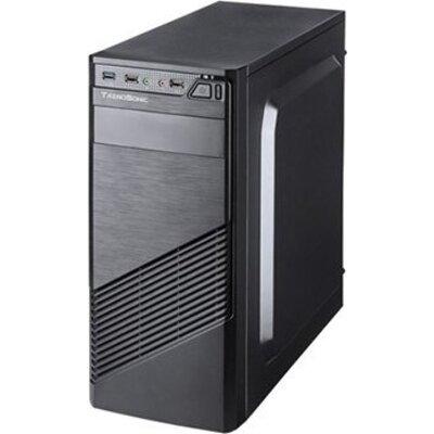 "Chassis FC-F61A, ATX, 7 slots, 2 X 5.25"", 3 X 3.5"" H.D., 2 X 2.5"", 1 x USB 3.0, 2 X USB2.0 / 2 x AUDIO /, PSU 550"