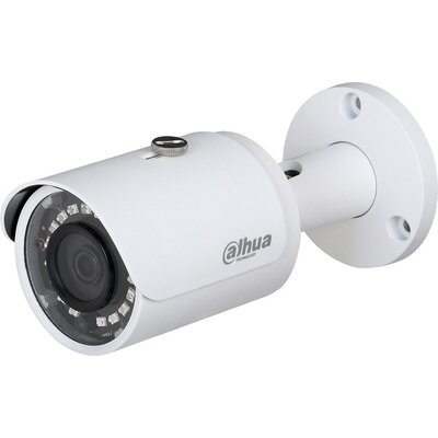 "Dahua IP camera 2MP, Bullet Water-prof, 1/2.7"" CMOS, 1920×1080 Effective Pixels, 25fps@1080P, Focal Length 2.8mm, Max IR di"