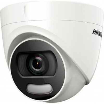 Hikvision HD-TVI 2MP Color Turret camera, 2MP high-performance CMOS, 1920x1080 Effective pixels, 25fps@1080p, 3.6 mm lens (Field