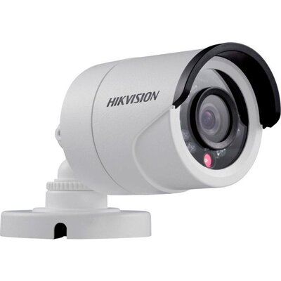 Hikvision HD-TVI 720P IR Bullet camera, 1MP progressive Scan CMOS, 1296x732 Effective pixels, 30fps@720p, 3.6 mm lens (Field of