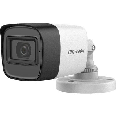 Hikvision HD-TVI Bullet camera, 2MP progressive Scan CMOS, 1920x1080 Effective pixels, build in Microphone, 25fps@1080p, 3.6 mm