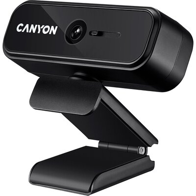 CANYON C2N 1080P full HD 2.0Mega fixed focus webcam with USB2.0 connector, 360 degree rotary view scope, built in MIC, Resolutio